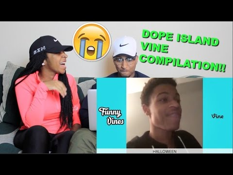 """Couple Reacts : """"Dope Island Vine Compilation"""" by Funny Vines Reaction!!"""