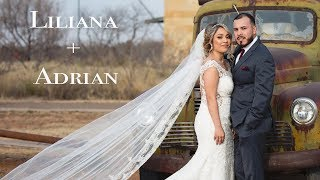Liliana + Adrian | Midland Texas Wedding | San Miguel Catholic Church