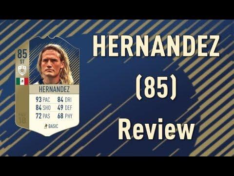 FIFA 18 - Luis Hernandez (85) - Icon Review