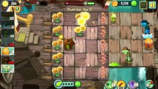 Plants vs Zombie 2 Walkthrough Pirate Seas Day 23