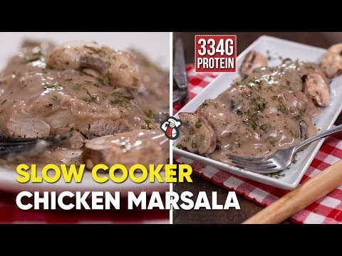 How To Make Slow Cooker Chicken Marsala
