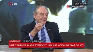 04-06-2019 - Carlos Heller en C5N – M1, con Sylvestre – Relevamiento de expectativas de Mercado