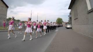 OSP Niepołomice - Parada z okazji 125-lecia działalności