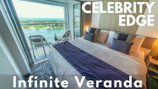 Celebrity Edge Infinite Veranda Stateroom Tour: Cabin #7143