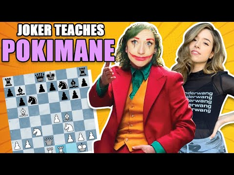 POKIMANE'S NEW CHESS COACH