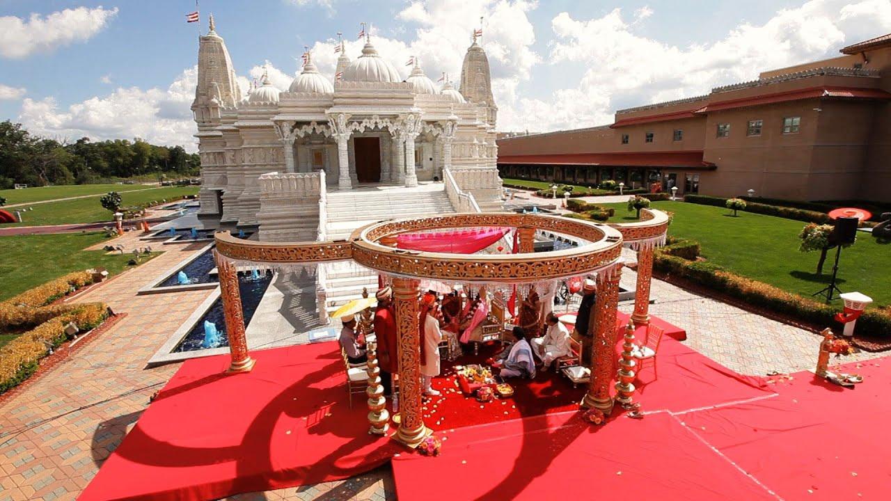 Outdoor Wedding Reception Indian