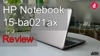 HP Notebook - 15-ba021ax Review Digit in