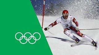 An Incredible Olympic Comeback - Hermann Maier | Olympic Rewind