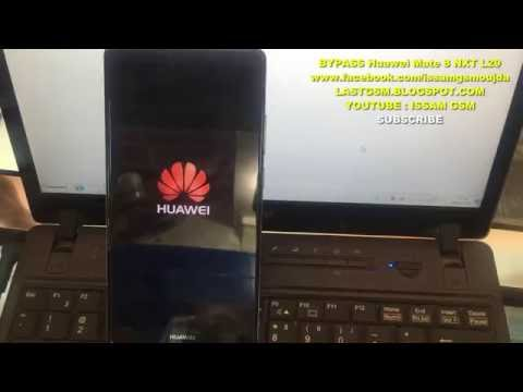 Huawei Mate 8 NXT L29 BYPASS GOOGLE ACCOUNT REMOVE FRP 2016