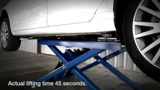 BendPak MD-6XP Mid-Rise Car Lift - Portable Scissor Lift