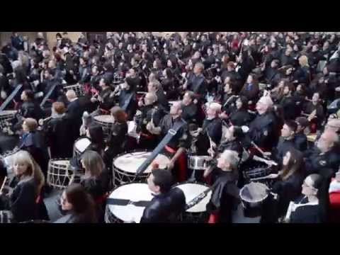 Final toque tambor y bombo Andorra 2015