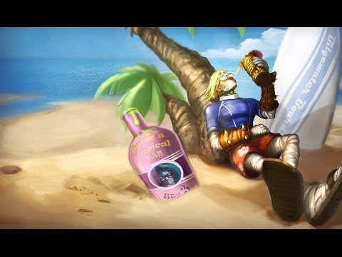 Singed Surfista - League of Legends (Completo BR)