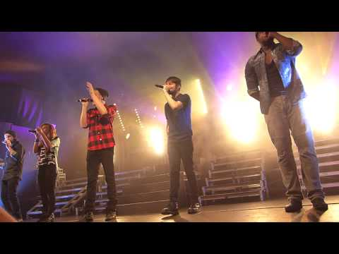 Pentatonix 'We are young' and Happy Birthday Kirstie - Oxford 15 May 2014
