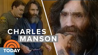 Mass Murderer Charles Manson's 1987 Interview In San Quentin Prison | TODAY thumbnail