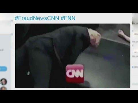 Trump tweets mock video of him beating CNN