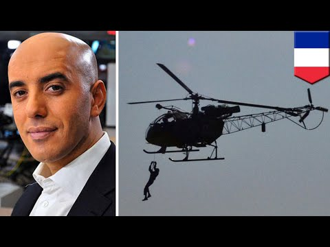 Prison break: Helicopter used to bust gangster out - TomoNews
