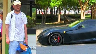Homeless Drives A Ferrari (Social Experiment) | Funny Videos 2018