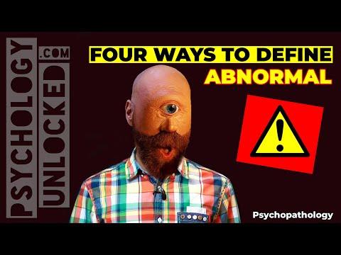 ⚠️ Four Ways to Define Psychological Abnormality ⚠️ Abnormal Psychology ⚠️ Psychopathology