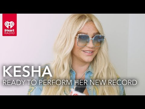 Kesha Ready to Perform 'Rainbow' Songs   Exclusive Interview