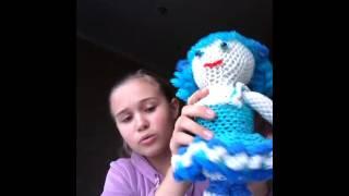 резики-3. Большая кукла из резинок