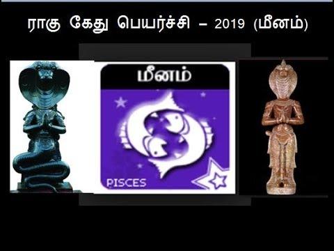 மீனம் - ராகு கேது பெயர்ச்சி – 2019