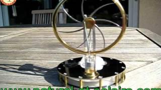 Moteur de Stirling acier poli, mobile, objet cadeau ou decoration