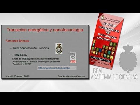 Fernando Briones Fernández-Pola, 10 de enero de 2019.1ª conferencia delXV CICLO DE CONFERENCIAS DE DIVULGACIÓN CIENTÍFICA.CIENCA PARA TODOS 2019▶ Suscríbete a nuestro canal de YouTubeRAC: https://www.youtube.com/c/RealAcademiadeCienciasExactasFísica