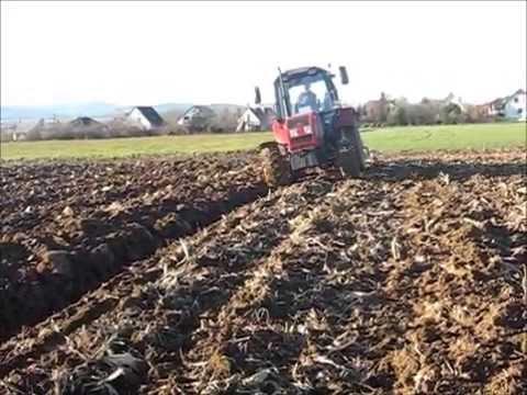 Культивация 2017, трактор мтз-892 культиватор кшу-5. - YouTube