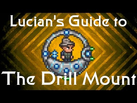 Lucian's HOW TO GET THE DRILL MOUNT GUIDE - Drill Containment Unit - TERRARIA 1.3 PC BEST ITEM