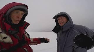 Зимова риболовля в компанії з Олександром Дунаєвим. Оз . Красногвардійське Березень 2018г