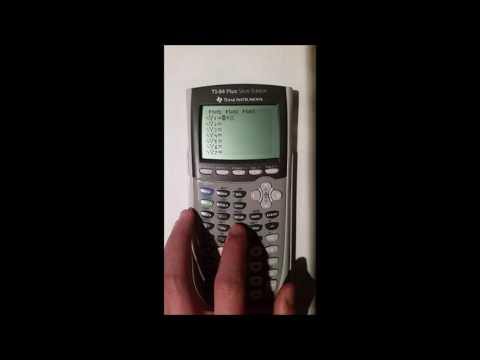 How to Reset a TI-84 Plus Silver Edition Graphing Calculuator