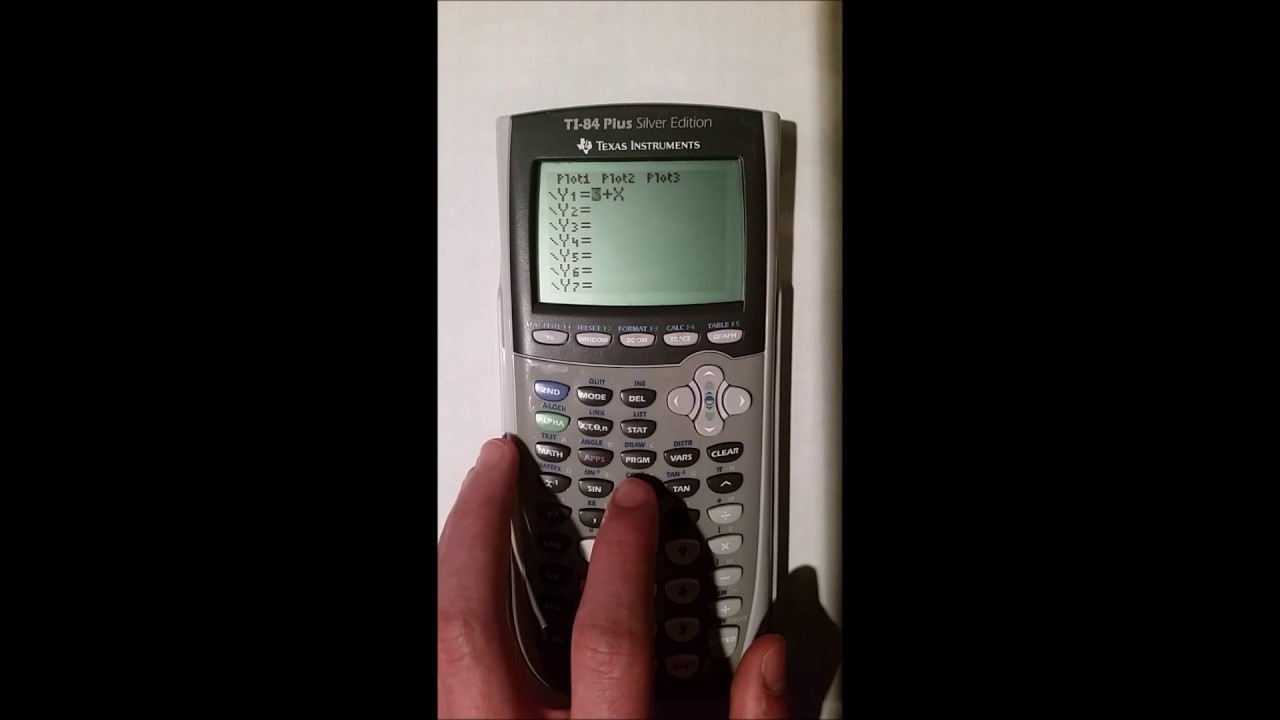 Ti calculator black screen fix youtube.