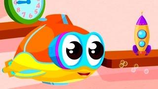 Flippy das U-Boot - Wir bauen eine Rakete - Cartoon für Kinder