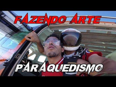 PULANDO DE PARAQUEDAS | FAZENDO ARTE