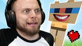 I Tamed The UGLIEST CAT In Hardcore Minecraft!! #1