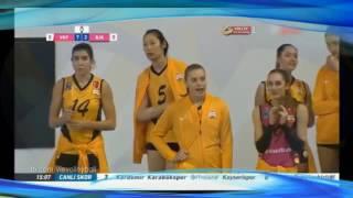 央视解说土耳其联赛 瓦基弗银行比赛 全程锁定朱婷 turkey volleyball club vakifbank vs galatasaray
