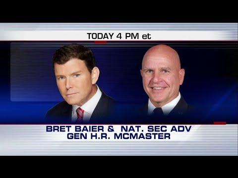 FOX NEWS ALERT 12/3/17: Bret Baier Interviews H.R. McMaster