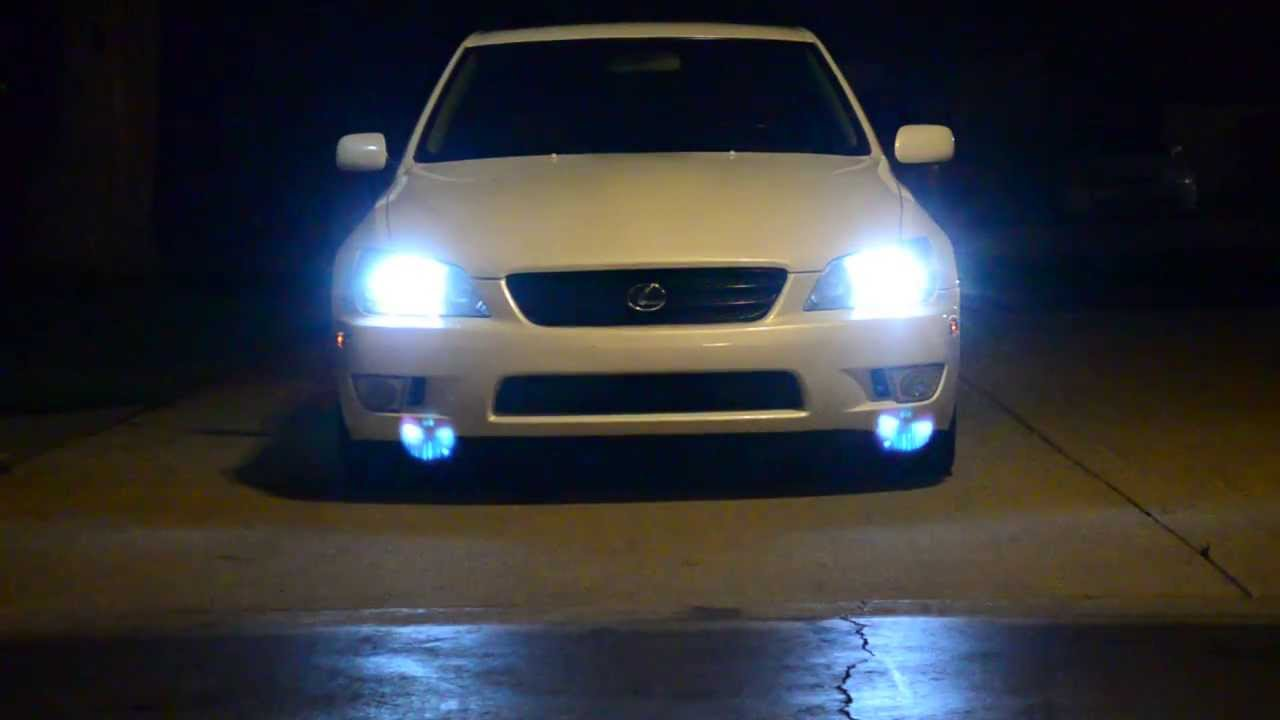 Lexus Is 300 6k Hids Youtube