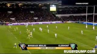 Tries in France 2011 2012 day 16 Bordeaux - Clermont