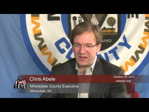 Newsmakers: Interview with Milwaukee County Executive Chris Abele