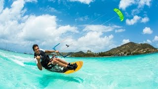 Kitesurfing has No Limits - JT Pro Center Union Island
