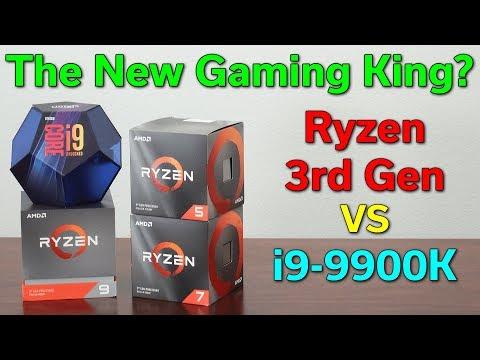 Ryzen 3rd Gen — The New Gaming King? — R5 3600x / R7 3700X / R9 3900X Vs I9-9900K