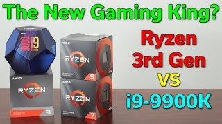 Ryzen 3rd Gen — The New Gaming King? — R5 3600x / R7 3700X / R9 3900X vs i9-9900K