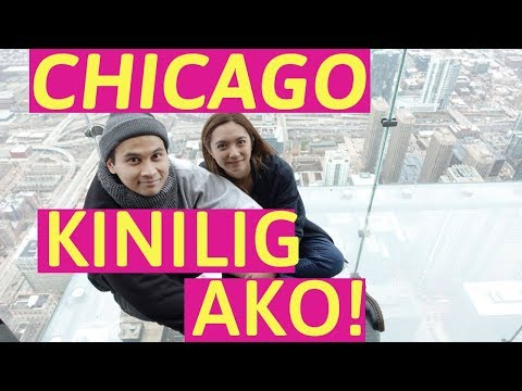 Chicago Downtown TOUR (KINILIG AKO!)| Crisha Uy