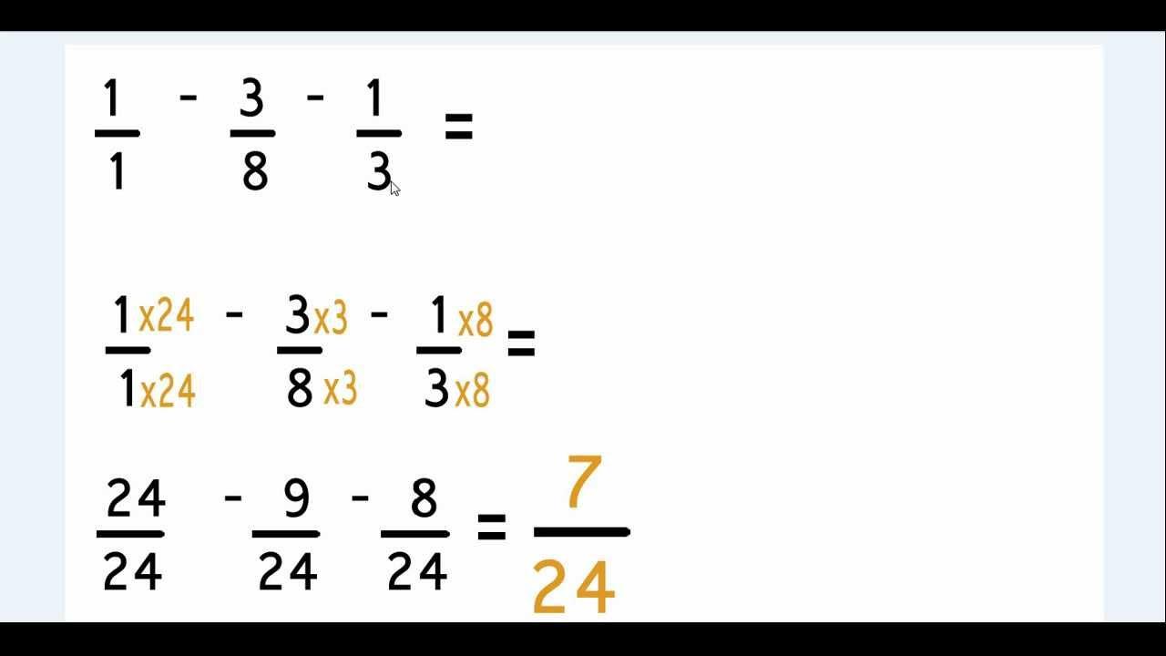 Exercice résolution de problèmes sur les fractions