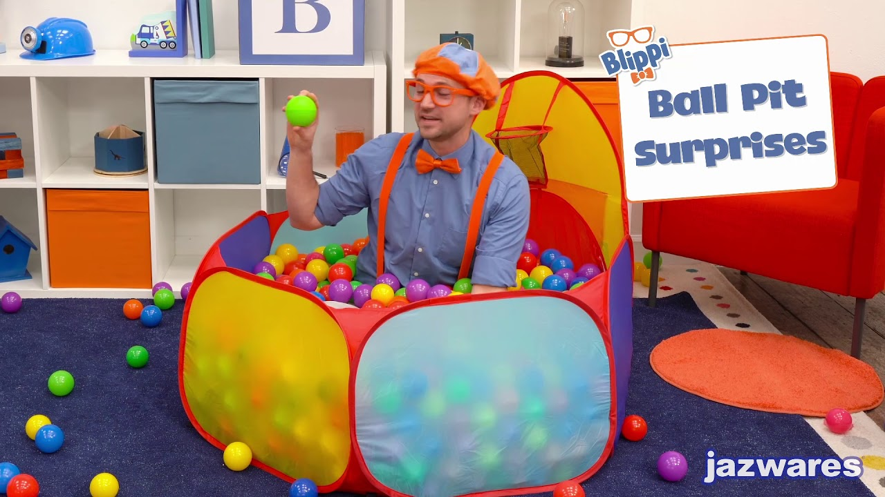 Blippi Surprise Boxes Assortment NEW Learning Numbers /& Colours KIDS