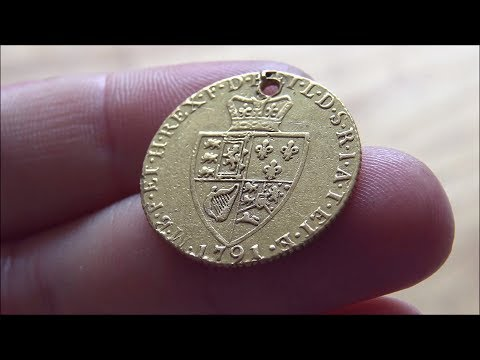 228 year old Gold Guinea - What a piece of history! IFF #134
