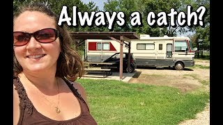 RVing OFF THE GRID in KANSAS???🚐😱📱💻