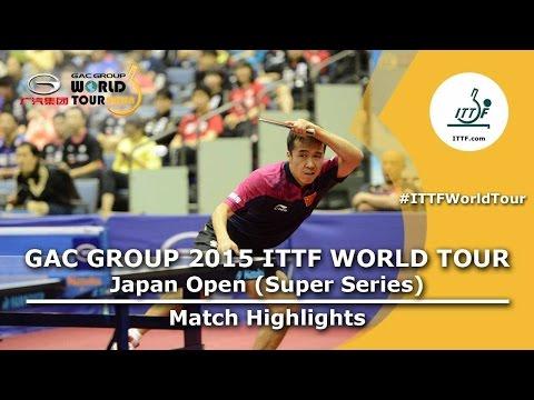 Japan Open 2015 Highlights: Shang Kun Vs Yuto Muramatsu (QF)