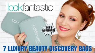 *NEW* LOOK FANTASTIC BEAUTY DISCOVERY BAGS - LUXURY PRODUCTS - 7 DIFFERENT BAGS
